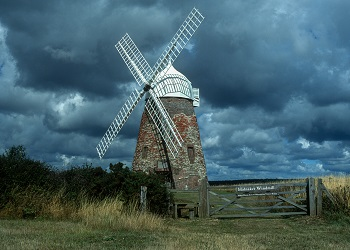 Halknaker Mill by Jean Brooks, 1989