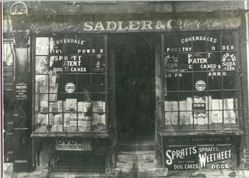 Sadlers Shop, East Street c.1930's