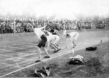 Sports Day Priory Park 1890 - 1900