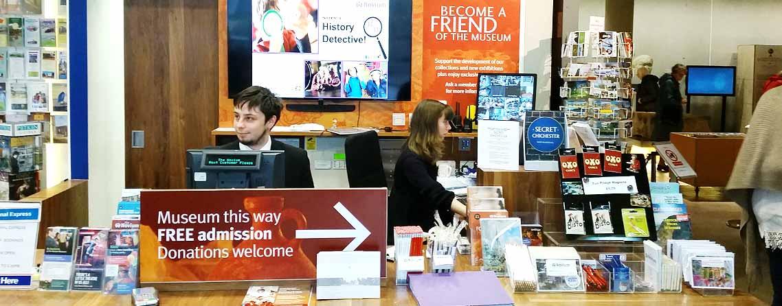 The Chichester Tourist Information Centre