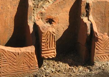 Roman box-flue tiles