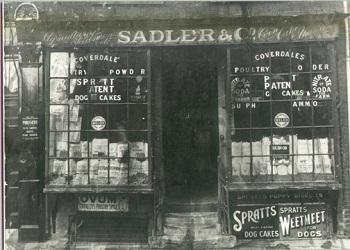 Sadlers Shop, East Street c.1930's