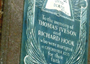 Memorial to Iveson and Hook