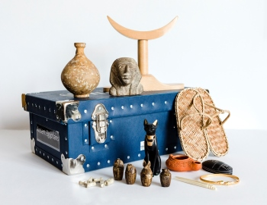 Egyptian loan box