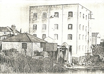 New Mill building constructed in 1923 after previous mill burnt down