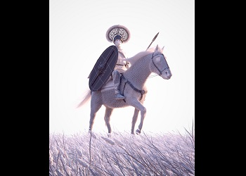 Thumbnail image of Wires for Horse and Warrior