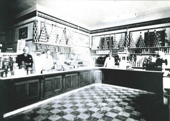 Shippam's shop in South Street Displays a larger version of this image in a new browser window