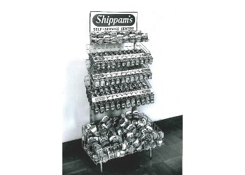 'Shippams, Self Service Centre' stand Displays a larger version of this image in a new browser window
