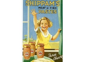 Poster from the Shippams Advertising Collection Displays a larger version of this image in a new browser window