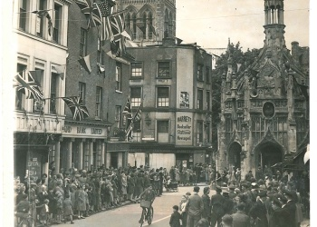 East Street on VE Day
