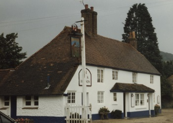 Fox and Hounds at Singleton, late 1980s (CHCDMP6894.65)